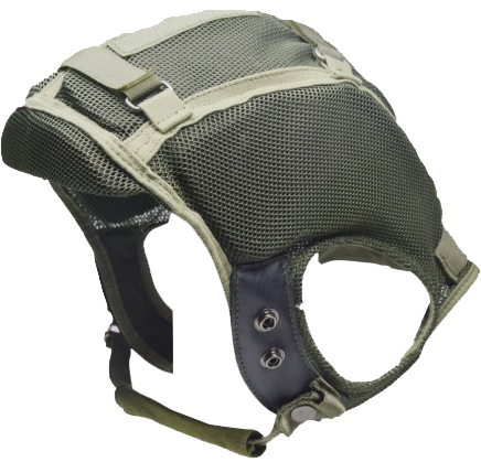 Fire retardant inner shell for military helmet hearing protection