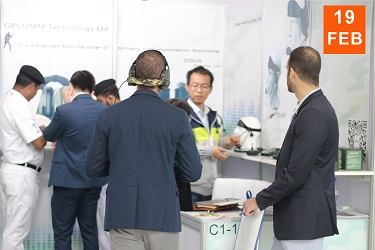 First Participated in IDEX Exhibition