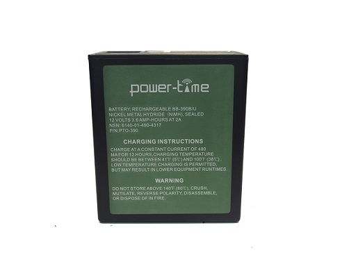 BB-390B/U NI-MH high capacity battery