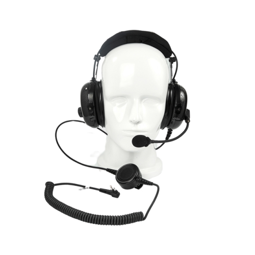 Noise canceling headset for industrial